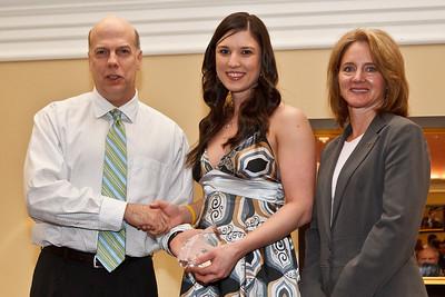 Kristen Marson, Outstanding Graduating Female Athlete 2011