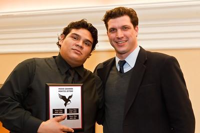Mario Eduardo and Coach Csepregi