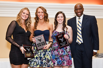 Womens BBall Award Winners and Graduates