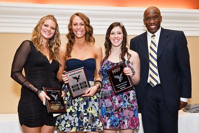 Womens BBall Award Winners and Graduates