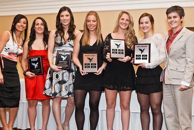Womens Hockey Award Winners and Graduates