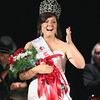 Record-Eagle/Keith King<br /> Jordan Blaker reacts after being announced as the 2011-2012 National Cherry Queen Friday, July 8, 2011 during the 2011 Cherry Festival Queen's Coronation Ball at the City Opera House.