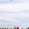 Record-Eagle/Keith King<br /> Pilots with the North East Raiders team perform an aerobatic demonstration over West Grand Traverse Bay near the Duncan L. Clinch Marina Saturday, July 2, 2011 during the National Cherry Festival Air Show.