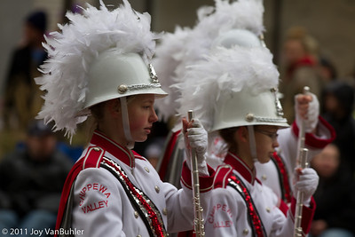Chippewa Valley High School Big Red's Marching Band from Clinton Township, MI