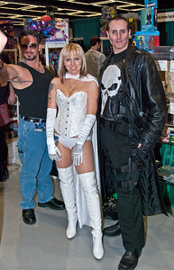 Tony Stark, Emma Frost and The Punisher