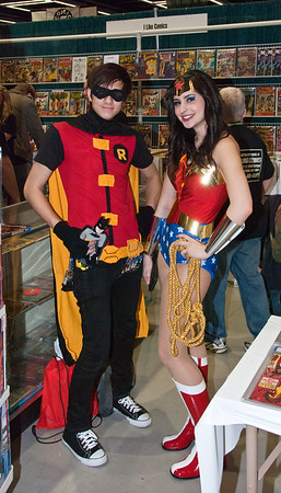 Robin and Wonder Woman