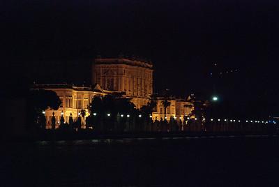 Dolmabahce Palace illuminated