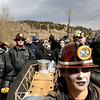 "Steph Von Mende, of Nederland, front, helps her team ""Ghost of Caribou Gold Mine"" carry the coffin during the parade on Saturday, March 5, during ""Frozen Dead Guy Days"" in Nederland. For more photos and video go to  <a href=""http://www.dailycamera.com"">http://www.dailycamera.com</a><br /> Jeremy Papasso/ Camera"