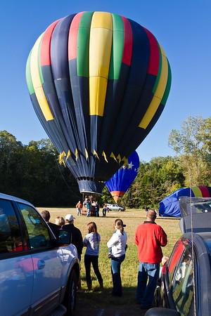 """Windspirit"", Joel Jones, Seale, AL Great Mississippi RIver Balloon Race 2011, Natchez, Mississippi ......For more information go to http://www.natchezballoonrace.com/"