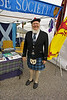 Reverend Boutwell of the Clan Rose Society in his Sunday best.