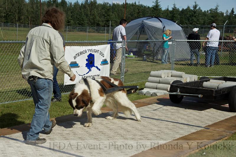 2011 IFDA Pulls at Tanana Valley State Fair