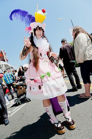 Lolita TheCupcake IsaLie at the 2011 J-POP Summit Festival