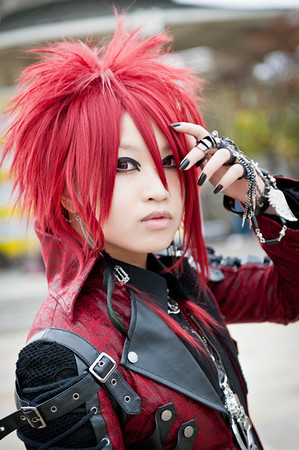 Toshi Yang, Visual Kei performer at the 2011 J-POP Summit Festival