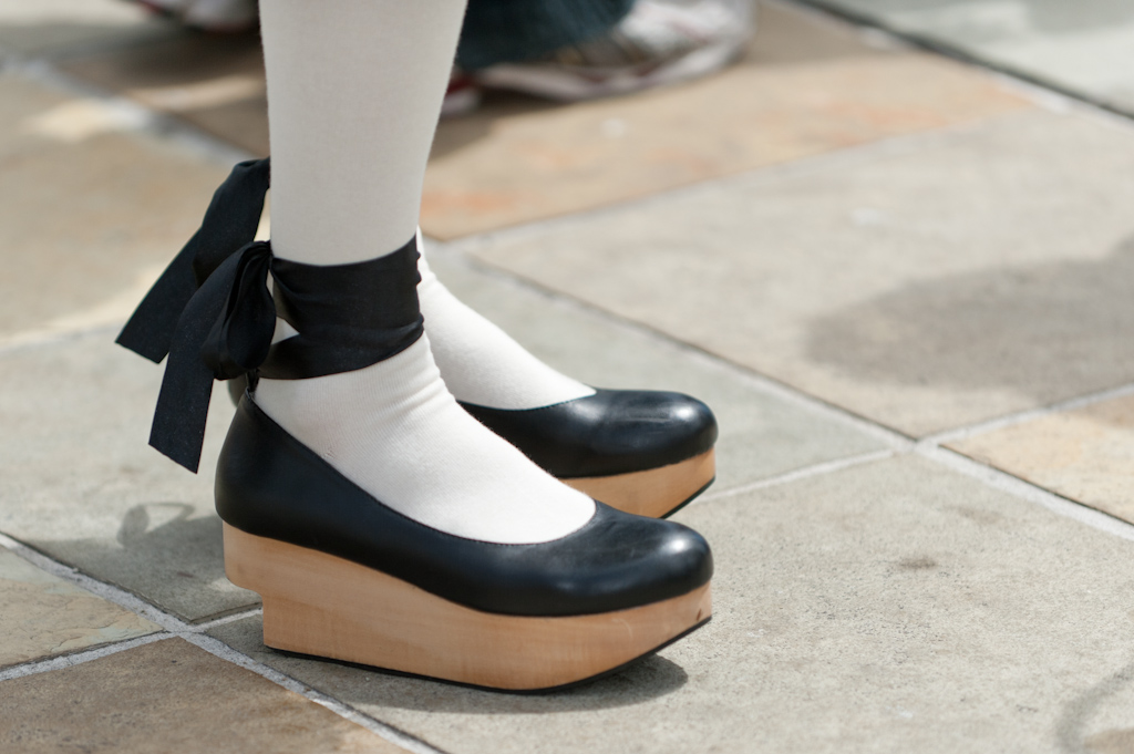 Shoe fashion at the 2011 J-POP Summit Festival
