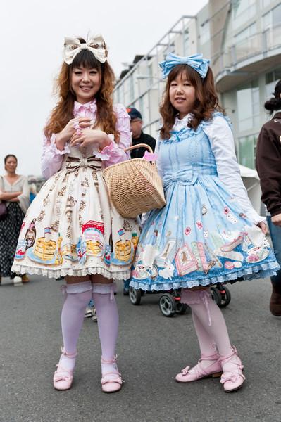 Lolitas at the 2011 J-POP Summit Festival
