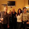 Back Stage at Joe Bonamassa 2011 Tour<br /> Rob,Claire, Carmine, Ana n Rick Melick