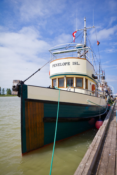 """Penelope Island"" at the 2011 Richmond Maritime Festival."