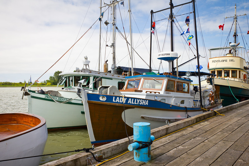 Lady Allysha - a wooden gillnetter converted to a pleasure craft.