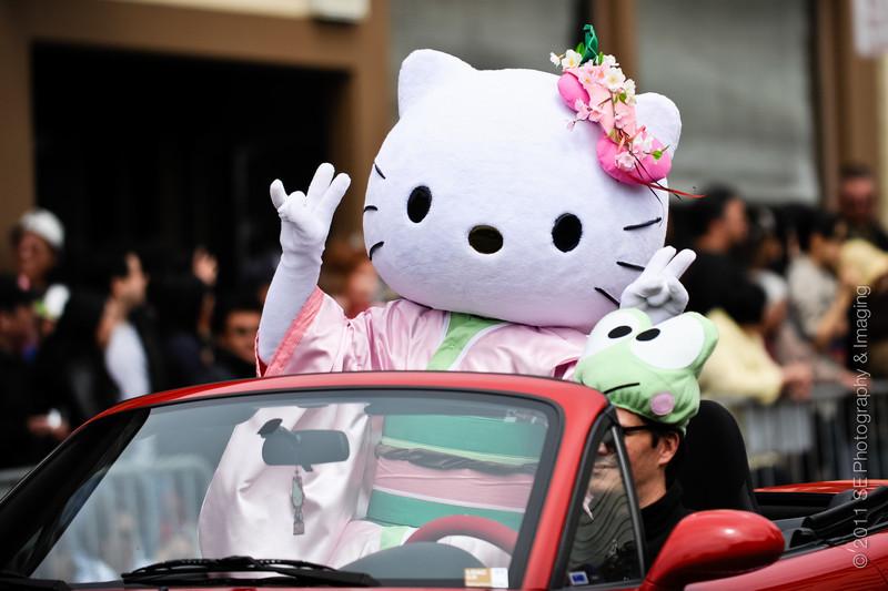 Co-Grand Marshall Hello Kitty