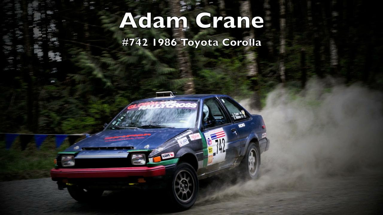 Adam Crane/Britta Nielsen #742 1986 Toyota Corolla