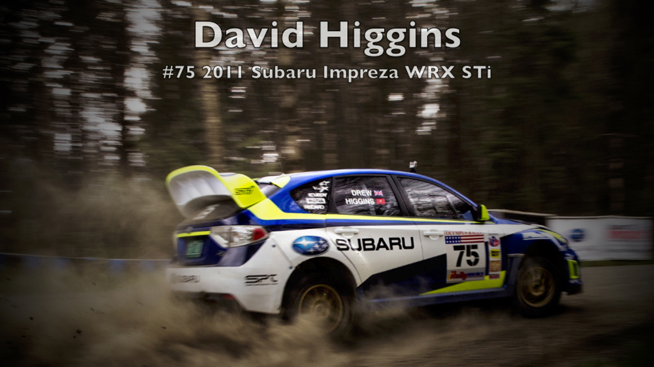David Higgins/Craig Drew #75 2011 Subaru Impreza WRX STI Video Clip