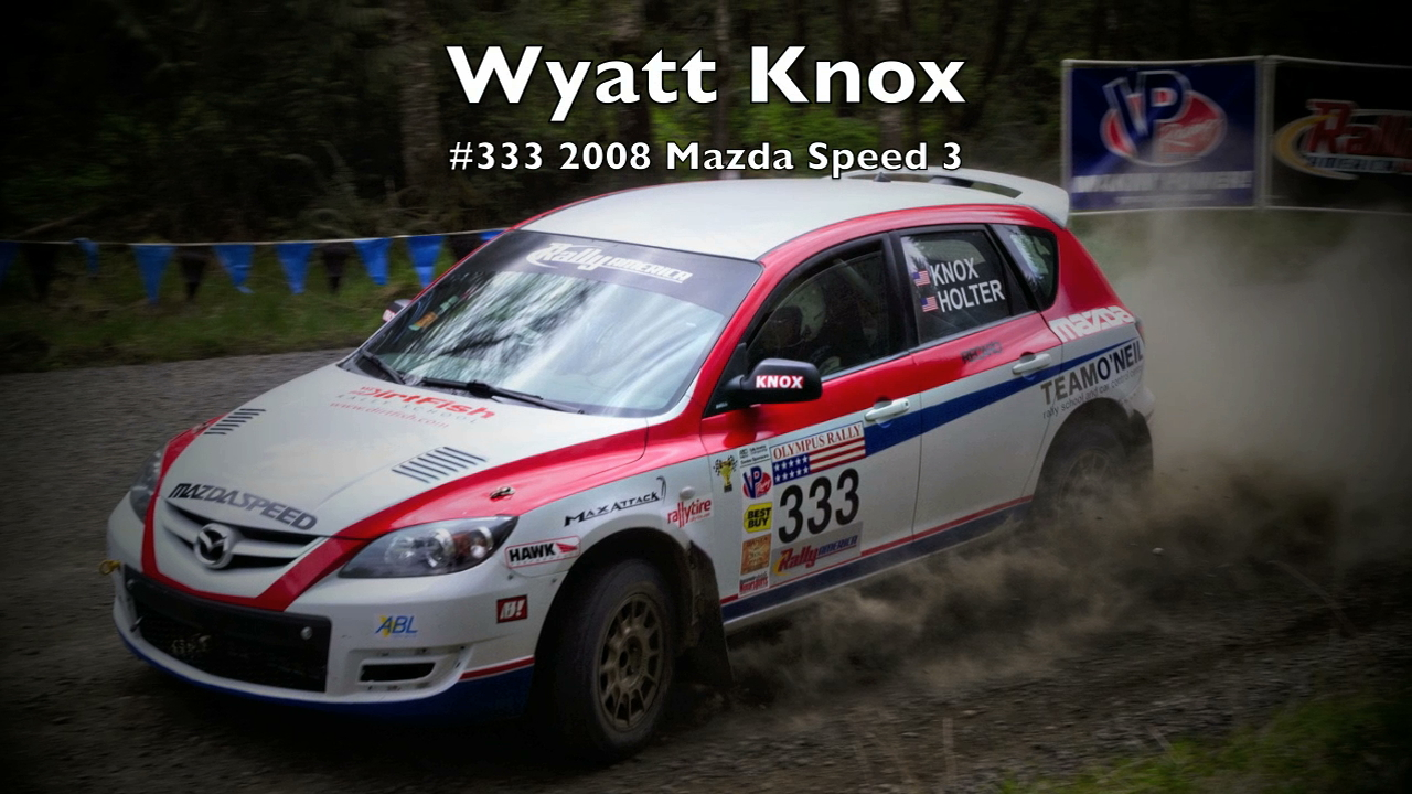 Wyatt Knox/Ole Holter #333 2008 Mazda Speed 3