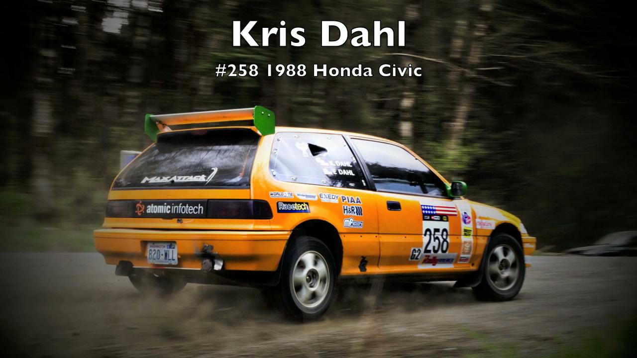 Kris Dahl/K. Edward Dahl #258 1988 Honda Civic