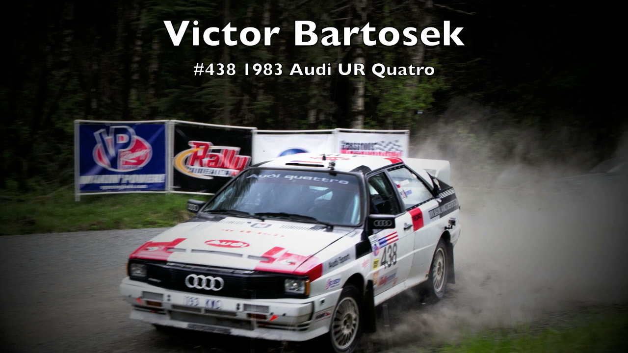 Victor Bartosek/John 'Nick' Taylor #438 1983 Audi UR Quattro