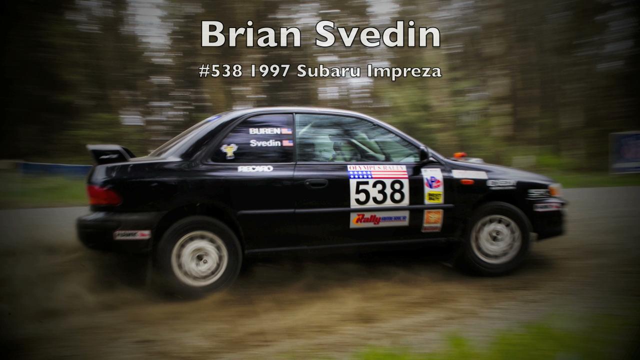 Brian Sveden/Teresa Buren #538 1997 Subaru Impreza