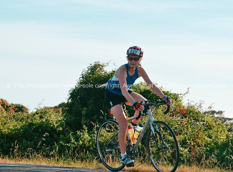 """Contestant 537 in POT Half Ironman -  Bell Road cycle turnaround. Tauranga, New Zealand. Tauranga is New Zealands 5th largest city and offers a wonderfull variety of scenic and cultural experiences. ALSO SEE; <a href=""""http://www.blurb.com/b/3811392-tauranga"""">http://www.blurb.com/b/3811392-tauranga</a>"""