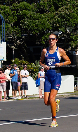 Port of Tauranga Half Ironman, 2011, New Zealand. Simpson, running. Tauranga is New Zealands 5th largest city and offers a wonderfull variety of scenic and cultural experiences. ALSO SEE; http://www.blurb.com/b/3811392-tauranga