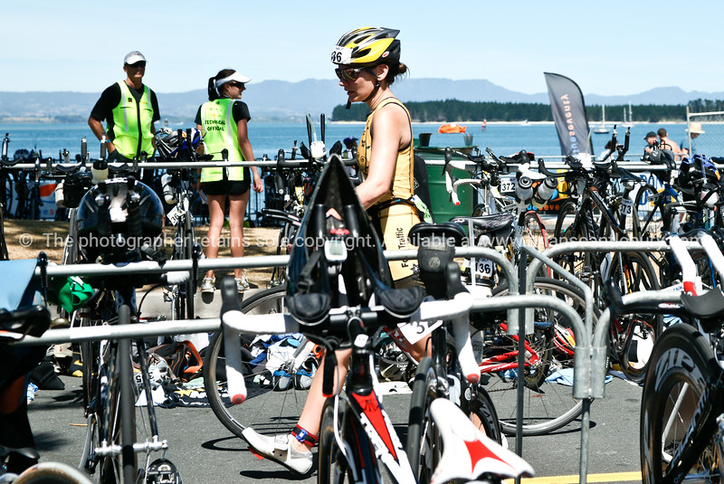 """Contestant 436 enters cycle area, 2010 POT Half Ironman-10 Tauranga is New Zealands 5th largest city and offers a wonderfull variety of scenic and cultural experiences. ALSO SEE; <a href=""""http://www.blurb.com/b/3811392-tauranga"""">http://www.blurb.com/b/3811392-tauranga</a>"""