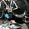 "Bicycle and helmets at Bike station, POT Half Ironman. Helmet 13. Tauranga is New Zealands 5th largest city and offers a wonderfull variety of scenic and cultural experiences. ALSO SEE; <a href=""http://www.blurb.com/b/3811392-tauranga"">http://www.blurb.com/b/3811392-tauranga</a>"