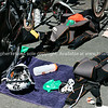 "Bike station close-up,biycles and accessories, helmet 29, 2010 Port of Tauranga Half Ironman-8 Tauranga is New Zealands 5th largest city and offers a wonderfull variety of scenic and cultural experiences. ALSO SEE; <a href=""http://www.blurb.com/b/3811392-tauranga"">http://www.blurb.com/b/3811392-tauranga</a>"