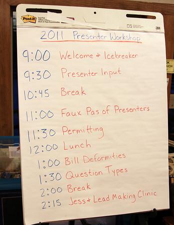 2011 Presenters Workshop