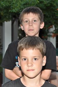 Aidan and Cameron