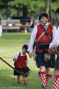 42nd Highlander Reenactors