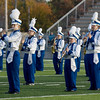 Record-Eagle/Keith King<br /> The Inland Lakes High School marching band performs Monday, October 10, 2011 during the annual Thirlby High School Marching Band Exhibition at Thirlby Field. Eighteen regional high schools took part in the event.