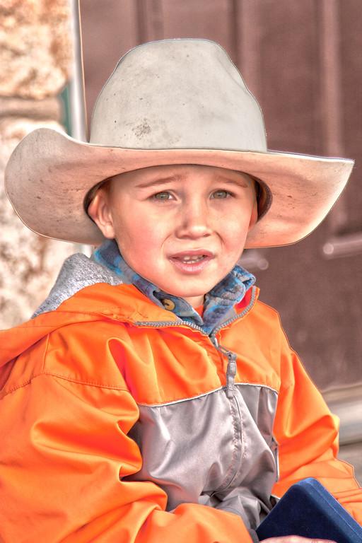 (Blue Ribbon)    Wade Endicott <br /> Pink Saddle winner