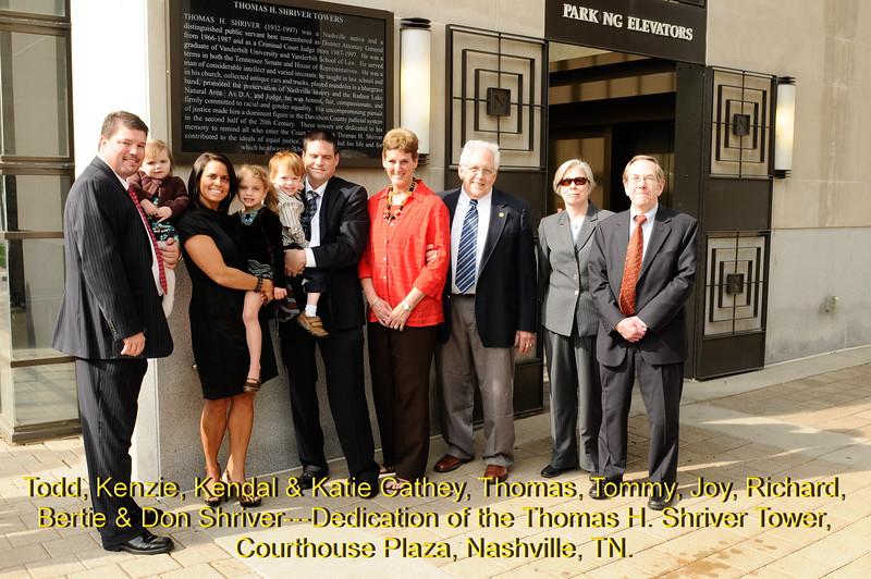Tom Shriver Tower Dedication 2011