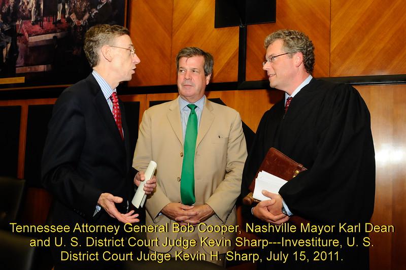 Sharp Swearing In 2011