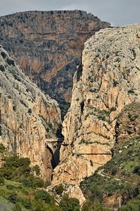 The El Chorro gorge