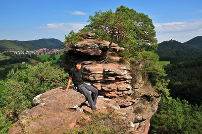 Climbing in the Südpfalz
