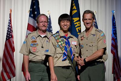 Eagle Scouts Graduation 2011