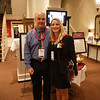 Dr. Tom Regan and Kristy McPherson enjoy the HRSM Homecoming Party 2011 at the McCutchen House on the USC Horseshoe<br /> <br /> ~ Image by Martin McKenzie All Rights Reserved ~