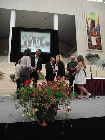 Mayor's Awards 2011: Winners. Photographer: Jasmin Ralstin May 25, 2011