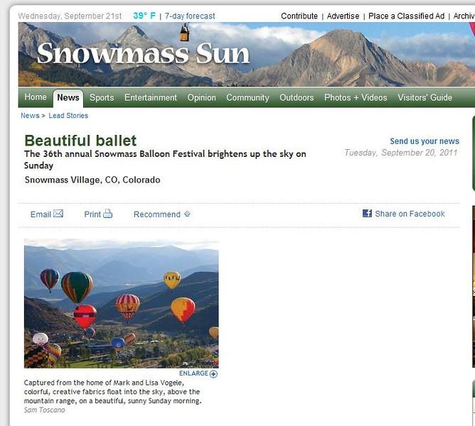 SnowMassSun Article