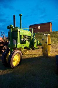 John Deere Tractor at SFVA