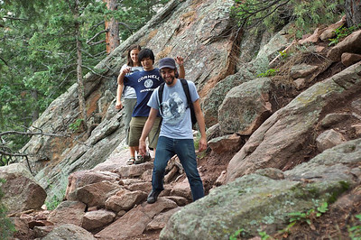 Afternoon walk in the flatirons