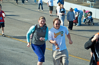 """Andrea & JJ """"Exchanging Paint"""" at RIR"""